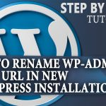 How to Change your WordPress Login URL /wp-admin