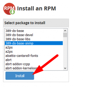 How to Install an RPM in WHM root