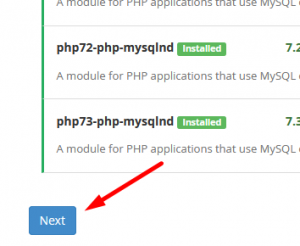 """fix """"PHP installation appears to be missing the MySQL extension"""