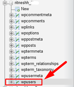 How to Find and Reset WordPress username from phpMyAdmin