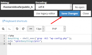 How to rename wp-config.php in a running WordPress site