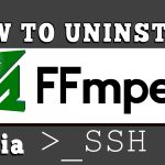 How to uninstall FFmpeg from your VPS/Dedicated server via SSH