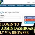 HOW TO LOGIN TO WHMCS DASHBOARD
