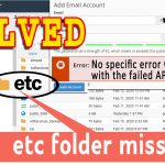 Fix Error: No specific error was returned with the failed API call