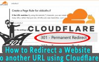 How to Redirect a website to another URL using Cloudflare
