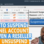 How to Suspend a cPanel account that even WHM Reseller can not unsuspend it