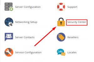 How to set password strength for cPanel account in WHM