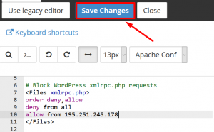 How to Disable XML-RPC in WordPress with .htaccess