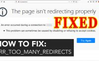 How to Fix error-The page isn't redirecting properly issue in WordPress