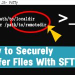 How to manually transfer files via SFTP in Linux server