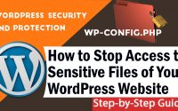 How to Stop Access to Sensitive Files of Your WordPress Websit