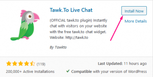 How to Apply tawk.to Live online chat system in your website