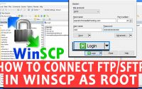 How to login to FTP/SFTP as root in WinSCP