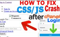 How to Fix- CSS & JS crashed after cPanel Login