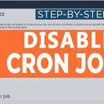 How to Disable Cronjob in cPanel