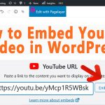 how to Add YouTube Videos to WordPress