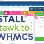 How to Install tawk.to in WHMCS website