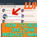 How to Reset a DNS Zone in WHM