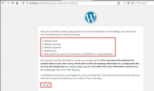 How to Install WordPress in localhost via XAMPP