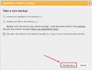 How to Backup a WordPress site to Remote FTP via WP Plugin