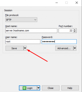 How to Connect FTP/SFTP in WinSCP as Root