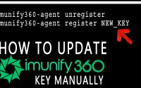 How do i Update Imunify360 key manually