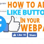 How to add facebook Like button in your HTML Website