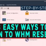 How to Login to your Reseller WHM