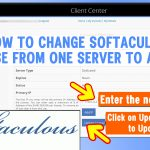 how to change the softaculous license's IP after server migration