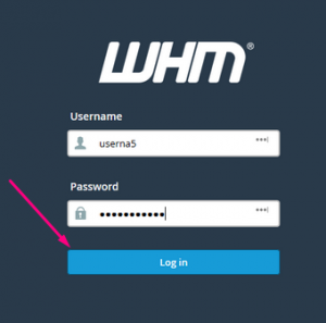 What are the different ways to log into WHM Reseller