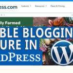 How to use WordPress as a website and disable blog feature