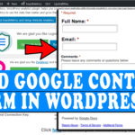 How to easily embed Google forms in WordPress