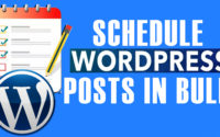 How to schedule WordPress posts in bulk