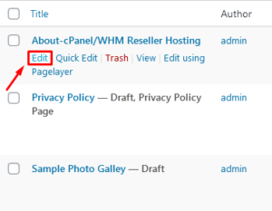How to disable the sidebar in WordPress