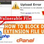 How to block Double extension file upload vulnerability like hack.jpg.php