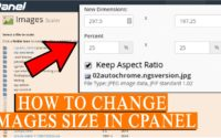 How to Change Image Sizes in cPanel