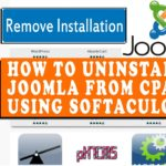 How to uninstall Joomla from cPanel using Softaculous