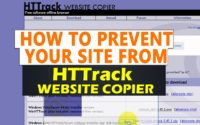 How to prevent HT Track & other website copiers from crawling your website