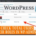 How to check total Wordpress users in your wp admin