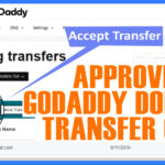 How to approve Godaddy domain transfer out