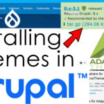 How to Install Themes in Drupal
