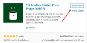 How to display Related Pages/Content in WordPress