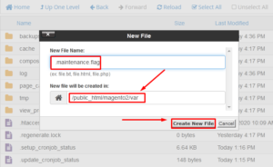 How to Enable Maintenance Mode in Magento