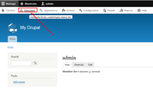How to Edit Menus in Drupal website