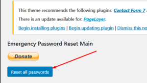 How to perform a Mass User Password Reset in WordPress