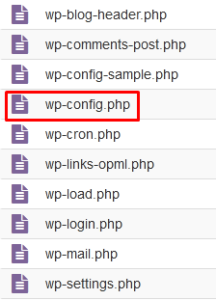 My WordPress installation is visible in domain/wp folder. How to Fix