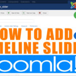 How to Add a Slider for a timeline in Joomla