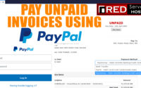 How to pay an invoice at RedServerHost using PayPal